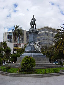 Monumento a Juan Montalvo Ambato